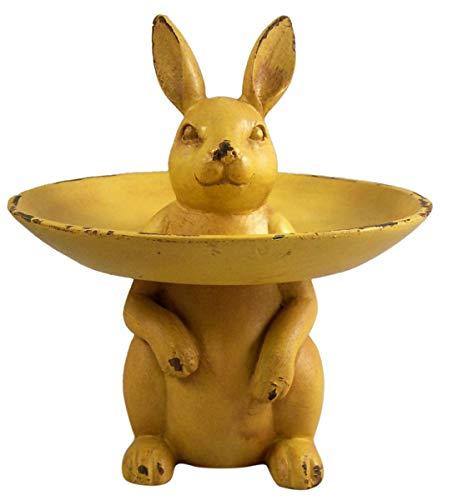 Yellow Bunny Rabbit Ring Holder