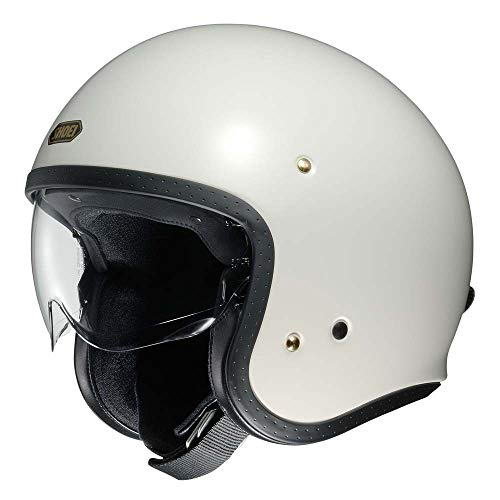 Shoei J O Vintage Open Face Helmet Off White/X-Large (More Size and Color Options)