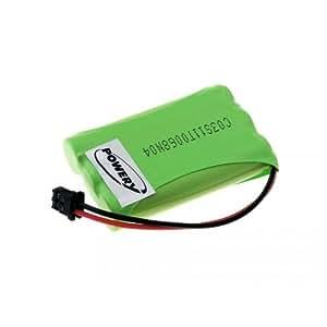 Batería para Uniden TRU4485, 3,6V, NiMH [batería para teléfono inalámbrico]