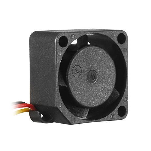 uxcell 20mm x 10mm 5V DC Cooling Fan with 3 Lead Wire, Long Life Sleeve Bearing