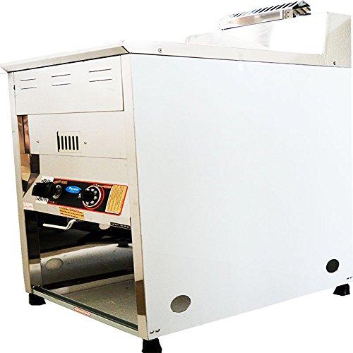 Natural Gas Fryer Restaurant Warming Equipment Cooking Ranges