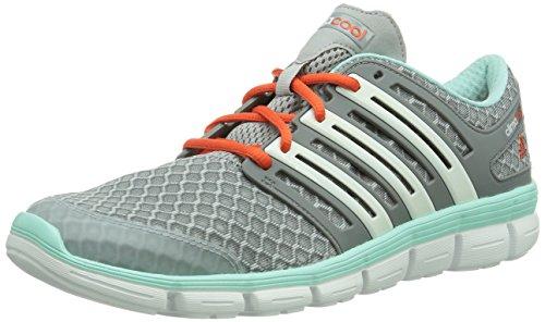 Adidas CC Crazy - Zapatillas de running para hombre gris - Grau (Clear Onix/Core White/Frost Mint)