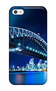 New Style Charming YaYa Hard Case Cover For Iphone 5/5s- Sydney Harbour Bridge Hd