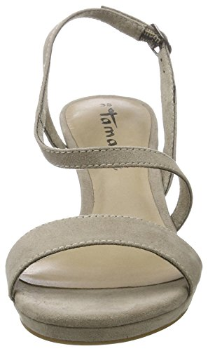 Tamaris 28318, Sandali con Tacco Donna, Marrone (Pepper 324), 38 EU