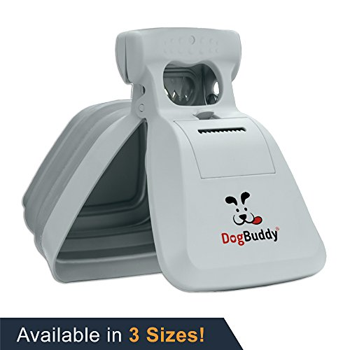 DogBuddy NEW Pooper Scooper - Small, Medium or Large Dog Pooper Scooper - Portable Poop Scoop - Dog Poop Scooper With Waste Bag Dispenser - Large - Mist