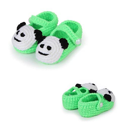 Killer Baby Sandals,FuzzyGreen Light Green Cute Panda Baby - Shoes Baby Gucci