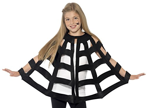 Smiffy's 44413 Spider Cape (one Size)