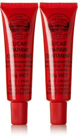 Ointment 15g Tube - Lucas Papaw Ointment 15g Tube with lip applicator - TWIN Pack for value by Lucas Remedies