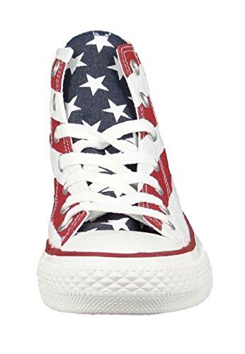 Stars Converse Stars Bars Sneaker Donna Hi bars amp; Brrxfqd