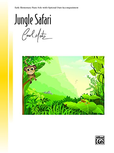 Jungle Safari: Early Elementary Piano Solo (Piano) (Signature Series)
