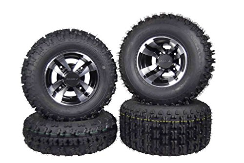 SET 4 YAMAHA RAPTOR 660R 700 Machine MASSFX Rims & MASSFX Tires Wheels kit