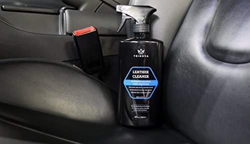 Leather Nova Cleaner For Couch Car Interior Bags Jackets Saddles Safe For Use In Home Or Car Microfiber Included 18oz TriNova