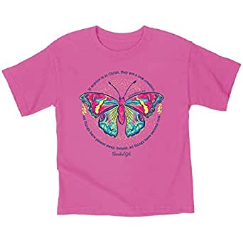 Kerusso Kidz T-Shirt New Creation Safety Pink - Pink - 3T
