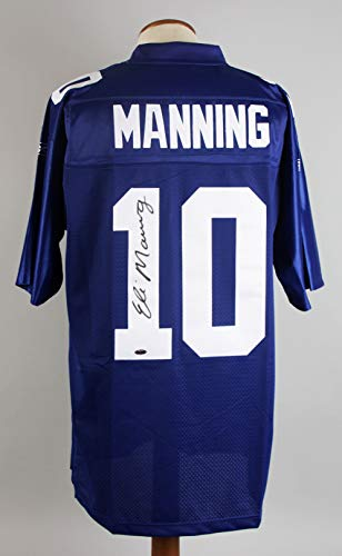 Eli Manning Signed Authentic Jersey Giants - COA ()