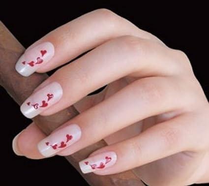 Uñas Plantillas By Glam Diseño De Rayas Cuerda Of Diseño