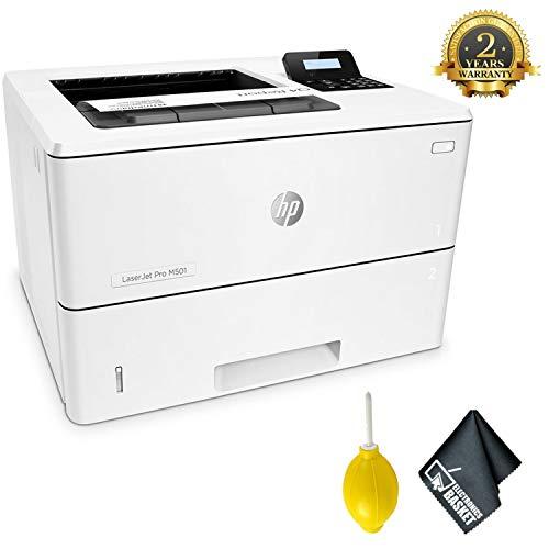 HPLaserjet Pro M501dn Monochrome Laser Printer Advanced Accessory Bundle