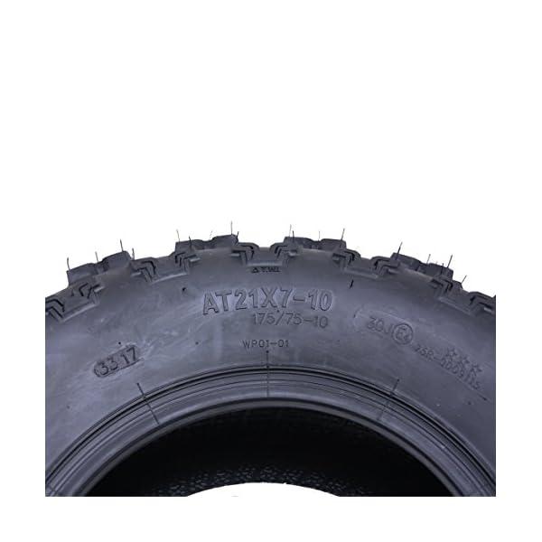 2 – Slasher pneus quad, 21×7.00-10 WP01 Wanda Race pneu 6ply E marqué 21 7 10