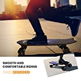 Vivi H2E Electric Skateboard with Built-in Colorful