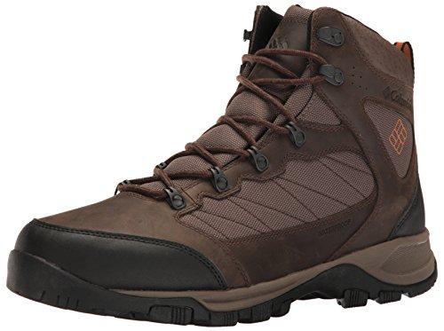 - Columbia Men's Cascade Pass Waterproof Hiking Shoe, Major, Bright Copper, 9 D US