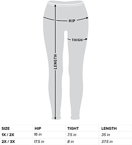 2X//3X Kathy Womens Plus Size Fitted Stretch Active Workout Leggings Running Tights Yoga Pants