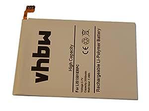 vhbw Li-Polymer batería 2000mAh (3.7V) para Smartphone, teléfono móvil Sony-Ericsson Xperia C, C6502, C6503, C6505, C6506 por LIS1501ERPC.