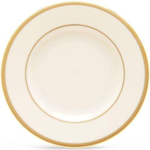 Lenox Tuxedo Gold Banded Ivory China Butter Plate