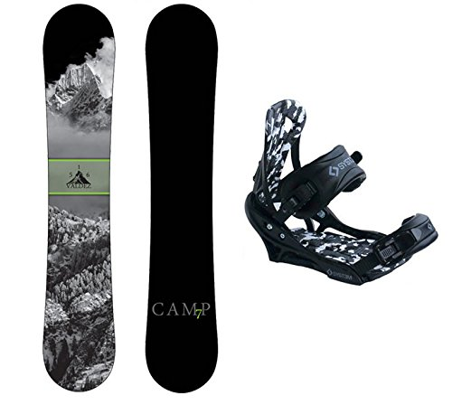 153cm Snowboard - Camp Seven Package Valdez CRC 2018 Snowboard-153 cm-System APX Bindings