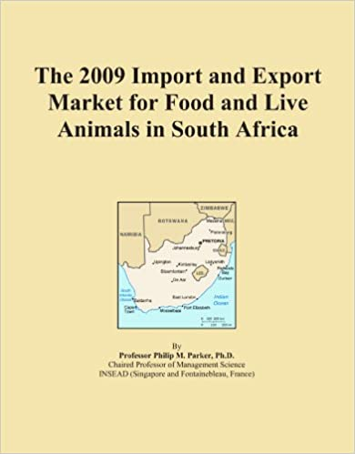 Ipad-kirjan lataukset The 2009 Import and Export Market for Food and Live Animals in South Africa PDF B002R5AI4Y