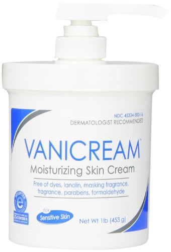 Vanicream Moisturizing Skin Cream with Pump Dispenser, 48 Ounce