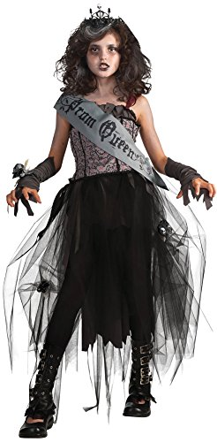 Girls - Goth Prom Queen Kids Costume Lg Halloween Costume (Goth Halloween Costumes For Kids)