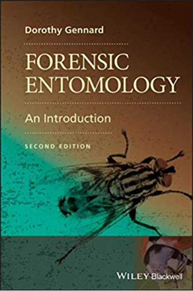 Forensic Entomology An Introduction 9780470689035 Medicine Health Science Books Amazon Com