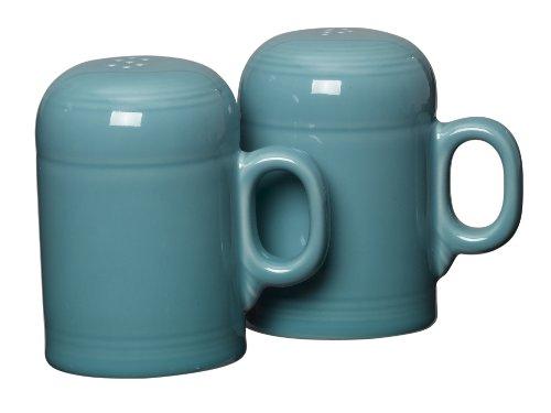 (Fiesta Rangetop Salt and Pepper Set, Turquoise)