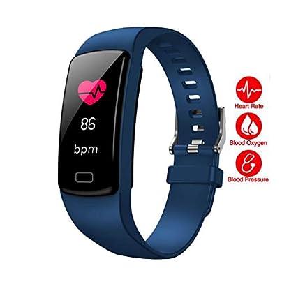 LNLZYF smart wristband Original Smart Bracelet Heart Rate Monitor Pedometer Blood Oxygen Fitness Tracker Smart Wristband Waterproof Multi Band Estimated Price £39.26 -