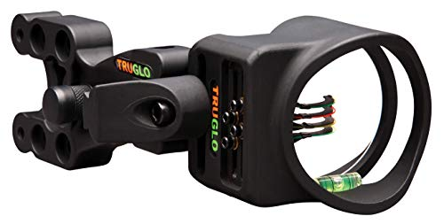 Bow Sight Tru (TRUGLO Carbon XS Lightweight Carbon-Composite Bow Sight, Black)