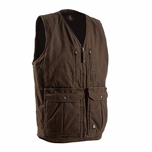 Berne Mens Echo One Zero Concealed Carry Vest (BARK M) (Berne Mens Concealed Carry Echo One One Jacket)
