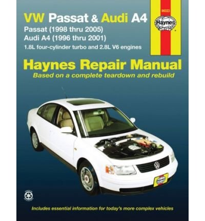 By Eric Godfrey - Audi A4 & VW Passat Automotive Repair Manual: 96-05 (Haynes Automotive Repair Manuals) (5/13/08): Eric Godfrey: Amazon.com: Books