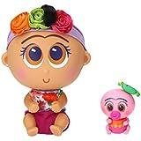 Distroller Nerlie Neonate Baby Frida Kahlo Doll w/ Mini Ksimerito – Special Edition in Spanish