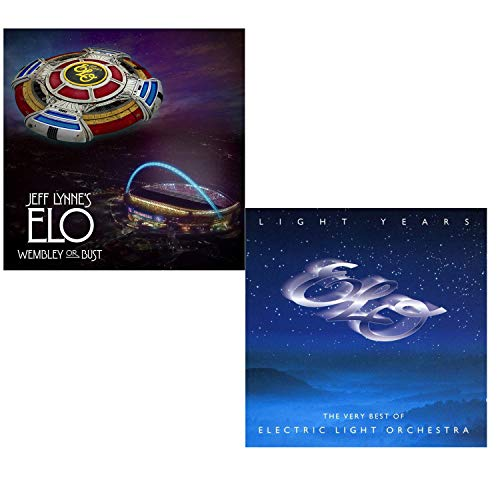 Wembley Or Bust (Greatest Hits Live) - Light Years (Best Of) - Electric Light Orchestra 2 CD Album Bundling