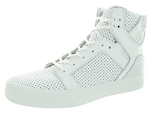 Supra Skytop HF White/White Sneaker Men's 9, Women's 10.5 D - Medium - Supra Skytop Sneakers