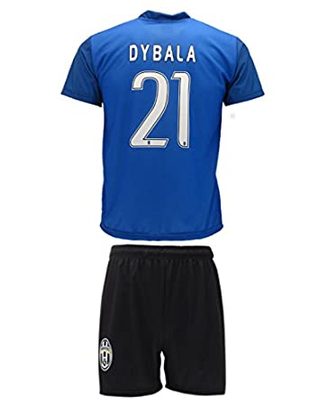 cf9522ae963 Kit Complete T-Shirt Jersey Blue Futbol Juventus Paulo Dybala 21 Replica  Authorized Adult Child
