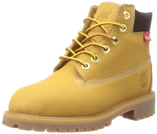 Timberland 6-Inch Premium Scuff Rebar Boot (Toddler/Little Kid/Big Kid),Wheat,7 M US Big Kid (Timberland Scuff Proof For Kids)