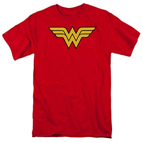 Wonder+Woman+Shirts Products : DC Comics Wonder Woman Logo Mens Short Sleeve Shirt Red 4X