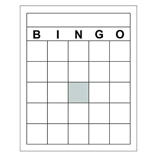 TOP NOTCH TEACHER PRODUCTS BLANK BINGO CARDS (Set of 6) -