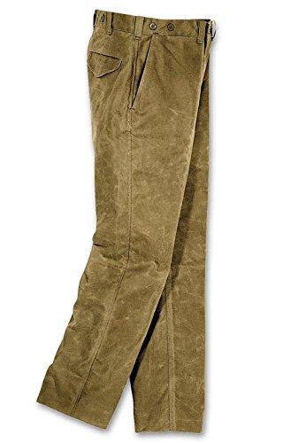 Filson Mens Oil Finish Single Tin Cloth Pants (42, Tan) (Oil Finish Tin Cloth)