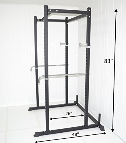 atlas power rack squat deadlift cage with bench racks in. Black Bedroom Furniture Sets. Home Design Ideas