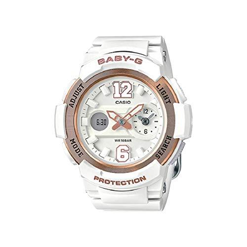 Casio Baby-G Analog-Digital White Dial Women's Watch - BGA-210-7B3DR - Digital Dial White