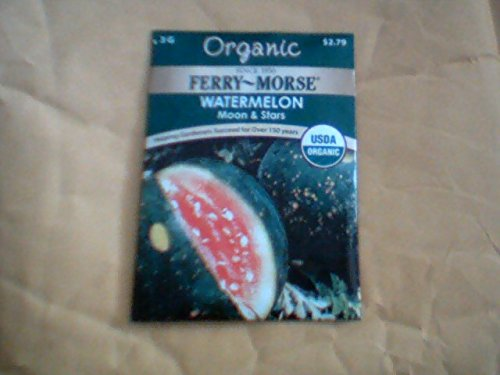- Ferrys Morse Organic 8 Pack of Seeds lot Great Value Discounted