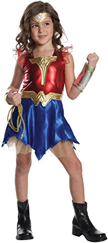 Imagine by Rubies Wonder Woman Deluxe Child's Dress-Up Set Costume