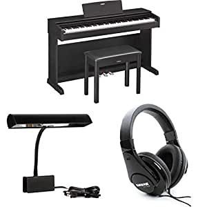 yamaha arius ydp 143b essential piano bundle. Black Bedroom Furniture Sets. Home Design Ideas