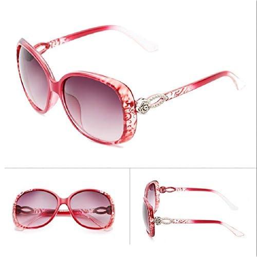 956850350d Bueno wreapped Sunyan Gafas de sol de estilo estrella femenina personalidad  marea gafas Gafas de sol nueva y elegante mujer cara redonda coreano ...
